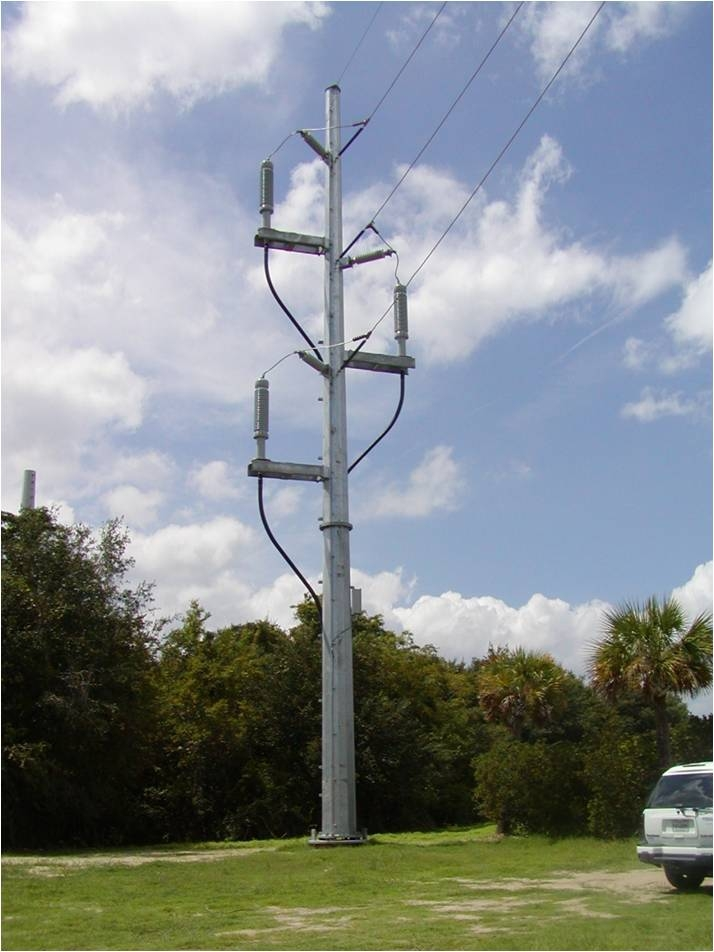 Pole Overhead Line Structures : New underground power source coming to island with it a