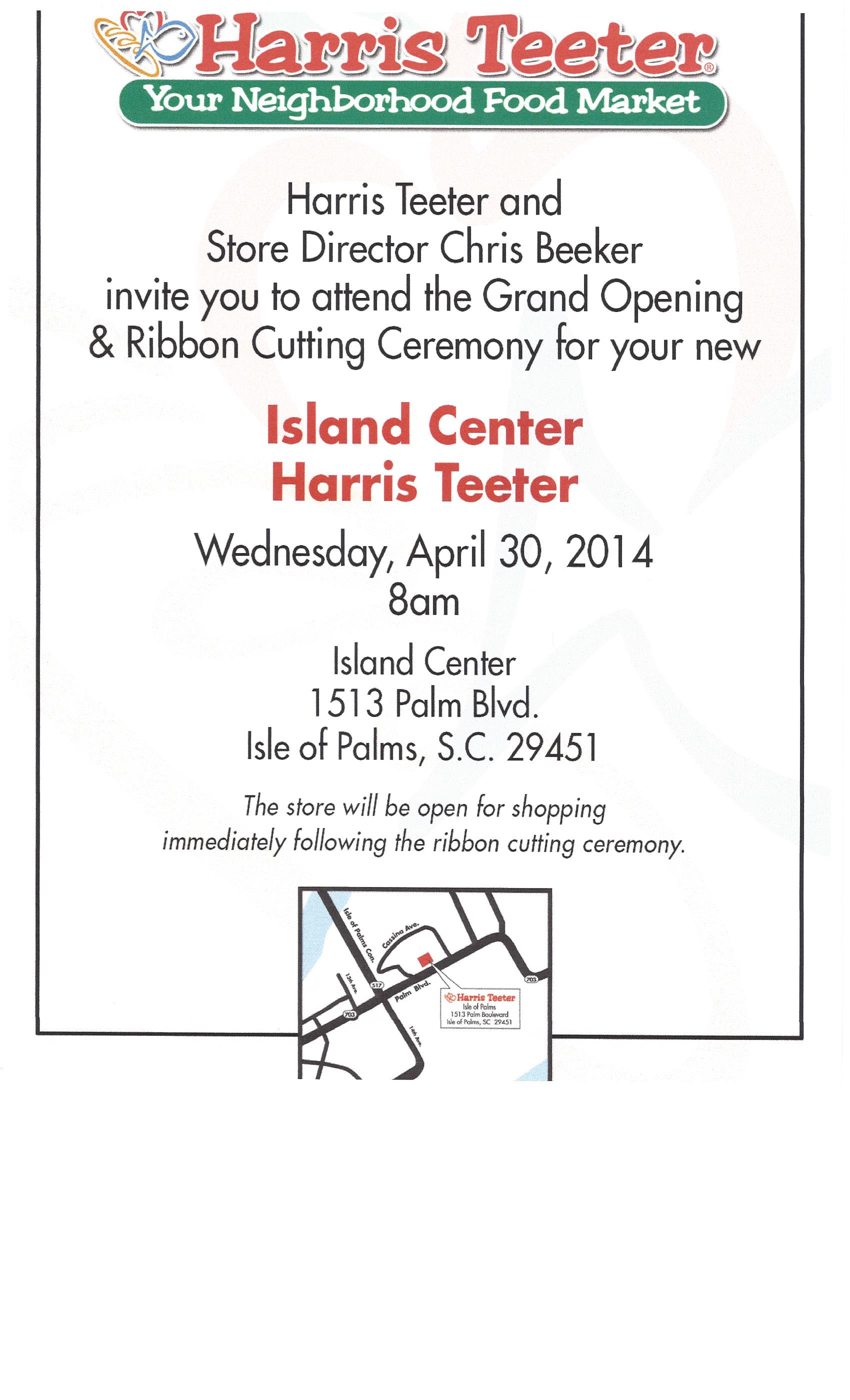 IOP Harris Teeter Grand Opening | IOP Today - Current Happening on ...