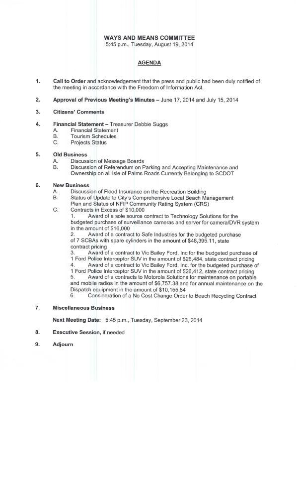 IOP Ways and Means agenda 8 19 2014 no2
