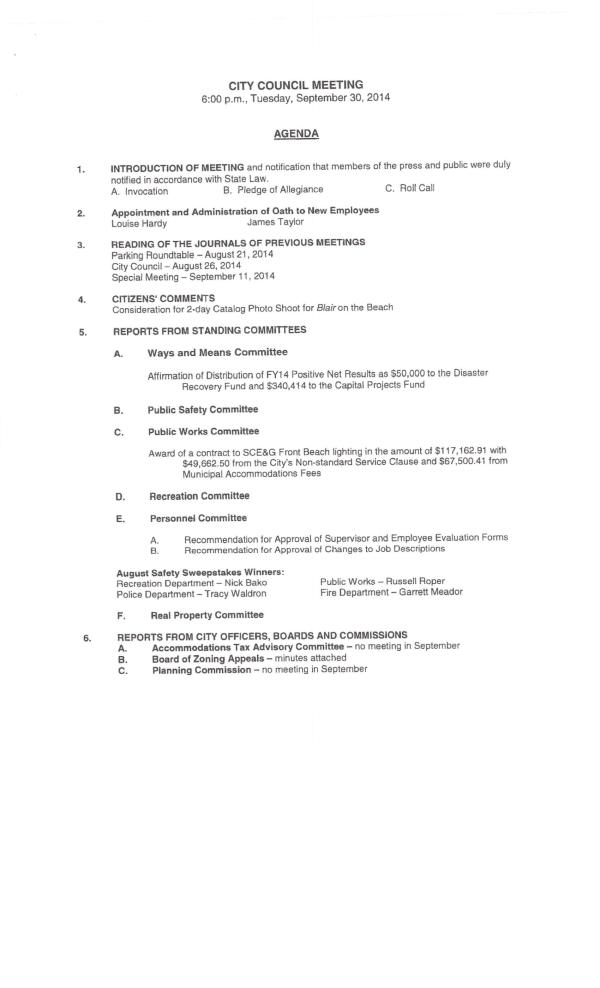 IOP council agenda sept 2014pg1 of 2