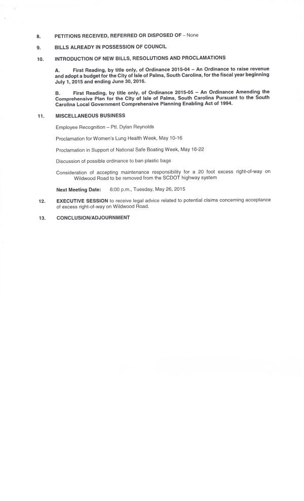 IOP City Council Agenda 4-28-150002