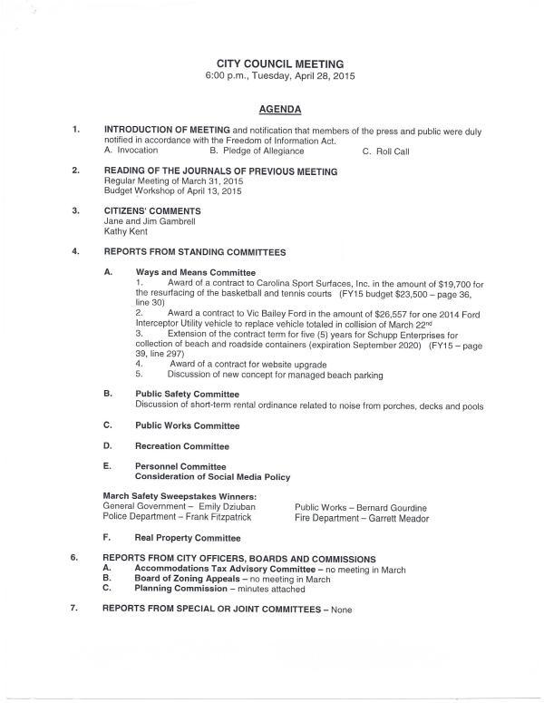 IOP Council Agenda 4-28-15 pg1