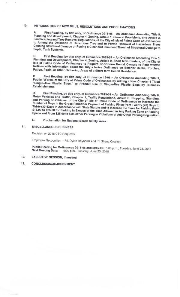 IOP city council agenda May 26, 20150002