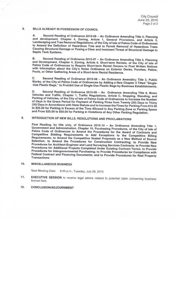 IOP City Council Agenda #3, June 23, 20150004