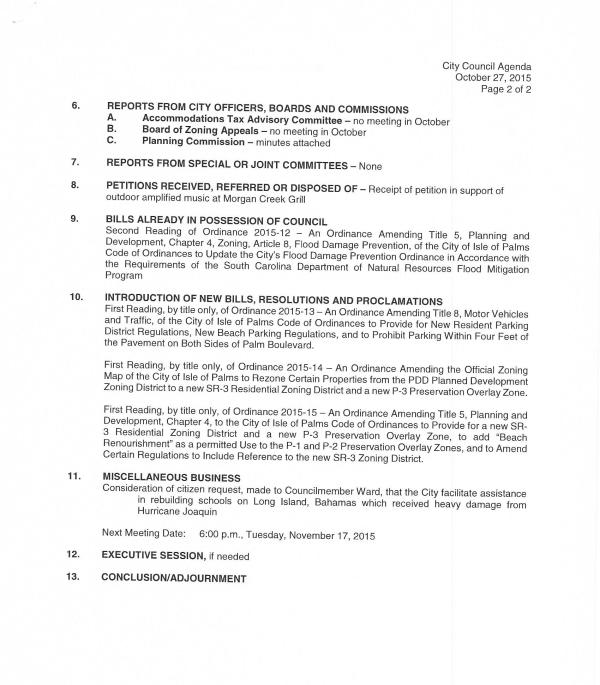 IOP Council meeting 10-27-2015 pg 2