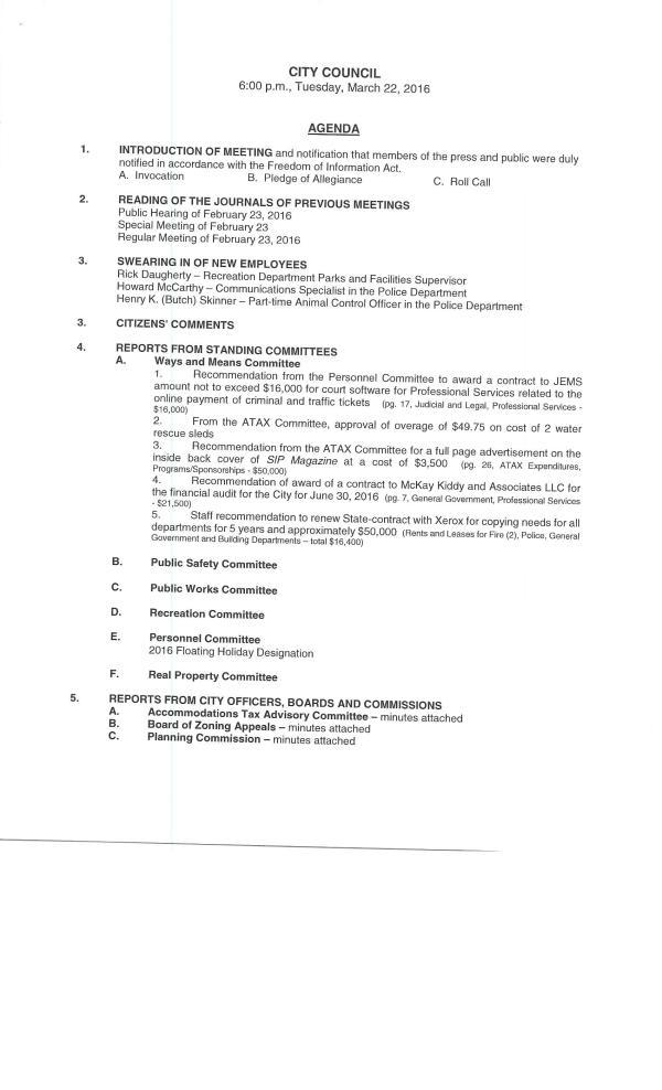 IOP council 3-22-160001